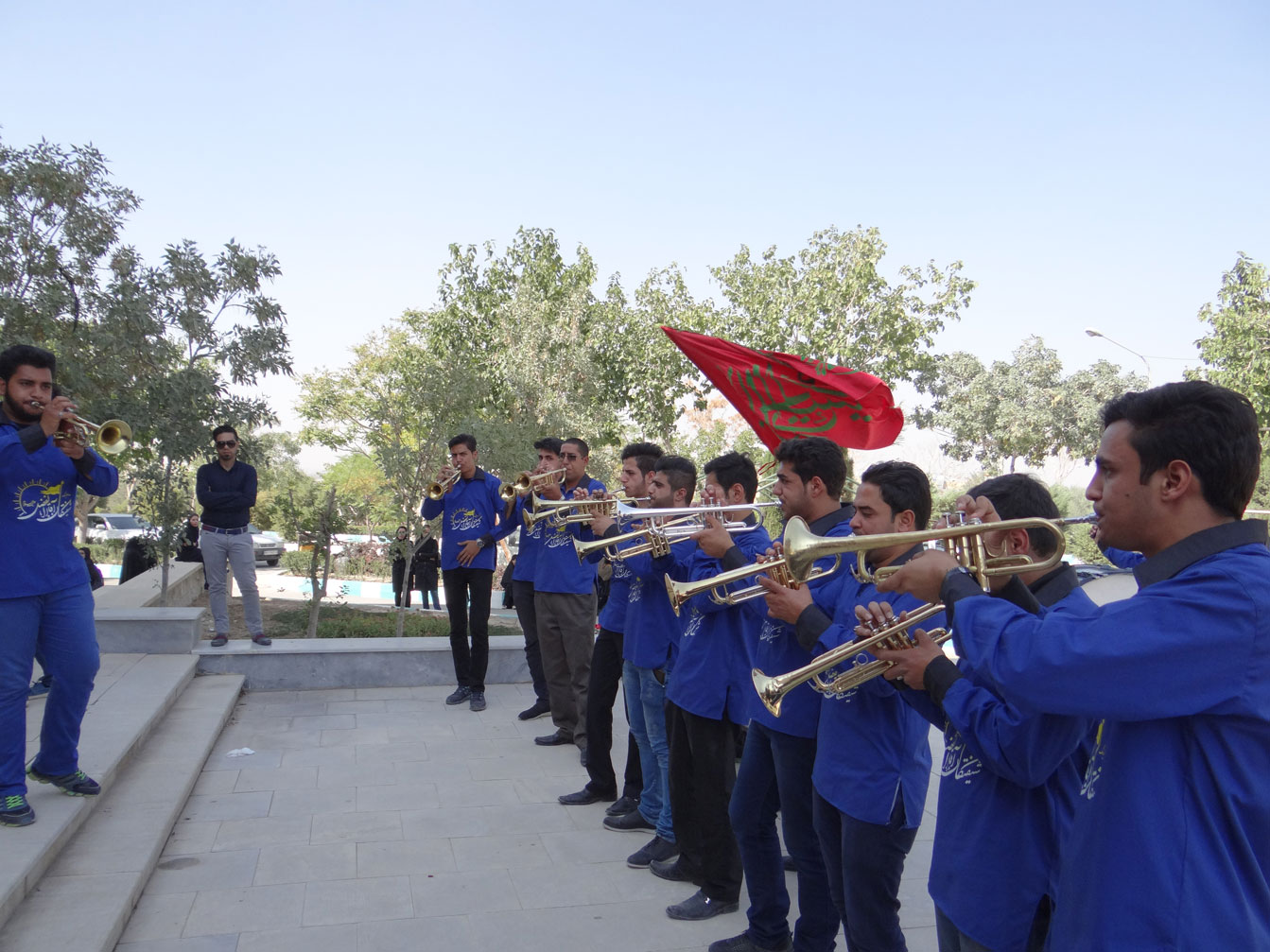 Muharram mourning ceremonies by students